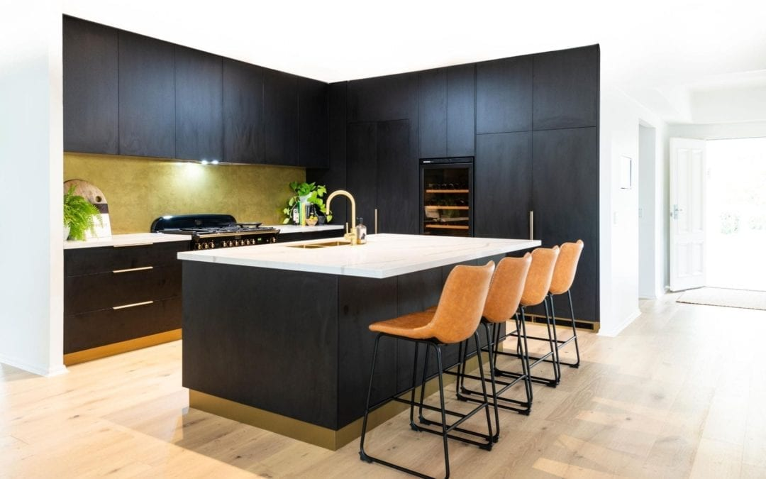 Bold Concept Kitchen with High Class Finish Bowral
