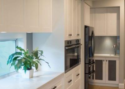 Contemporary Hamptons twist kitchen butlers pantry Harrington Grove