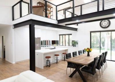 Modern White Polyurethane Kitchen Oakdale