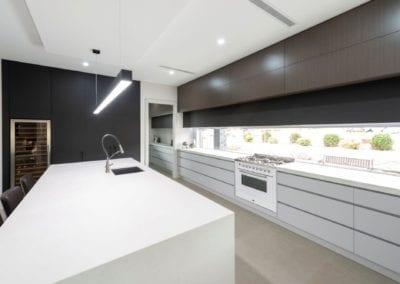 Sleek Streamlined Stunning Two-Toned Kitchen Kirkham