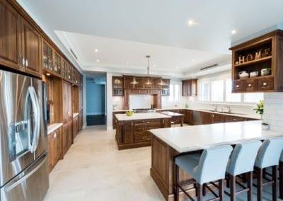 Stunning Solid Timber Walnut Kitchen Theresa Park
