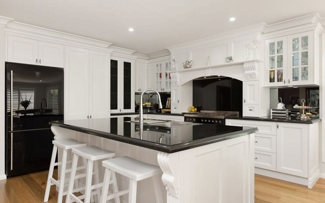 Traditional French Provincial meets Contemporary Kitchen Harrington Park