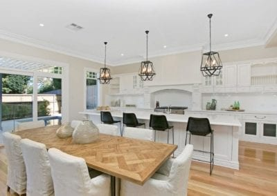 Warm Refined Country Living Kitchen Warrawee