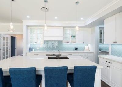 Calming Hamptons with Blue Hues Harrington Park