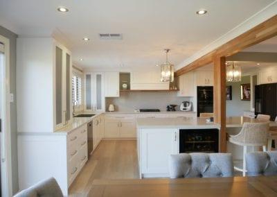 Contemporary Hamptons with Timber Highlights Barden Ridge