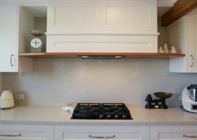 Contemporary Hamptons with timber highlights Barden Ridge mantel