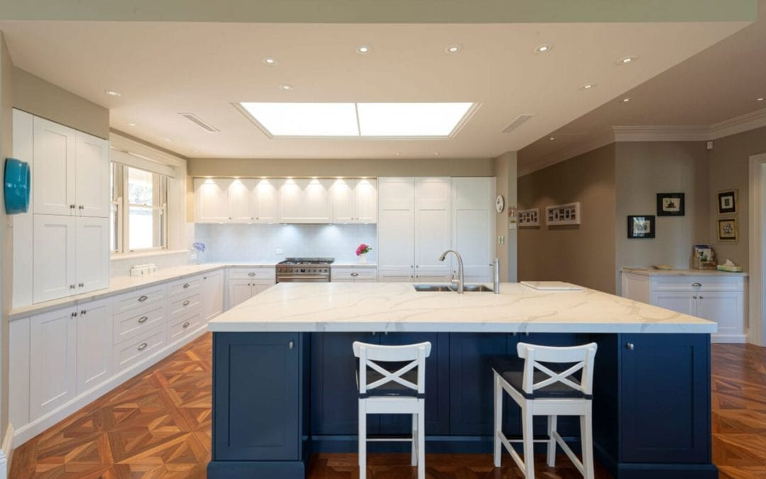 Divine Two Toned Kitchen Mittagong
