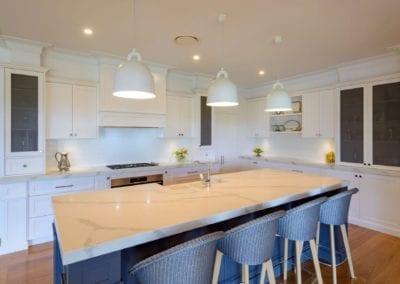 Elegant Stylish Two Toned Kitchen Orangeville