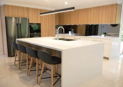 Ultra Modern Two Toned Kitchen Bargo