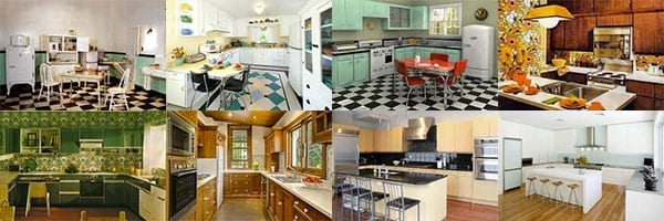 Looking Back at 100 Years of Kitchen Trends