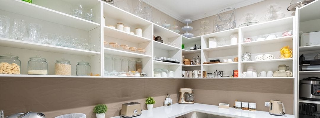 Open Shelving, Drawers or Cupboards: Which is Best for Your Butler's Pantry?