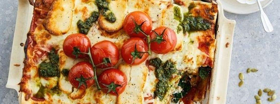 Haloumi Lasagne