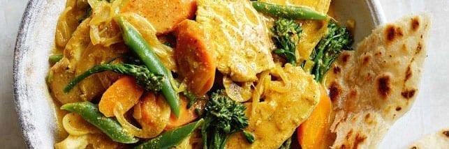 Light Chicken Korma