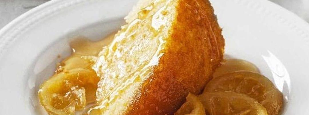 Traditional Steamed Lemon Pudding