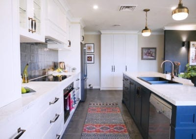 Dramatic Two Toned Kitchen East Bowral