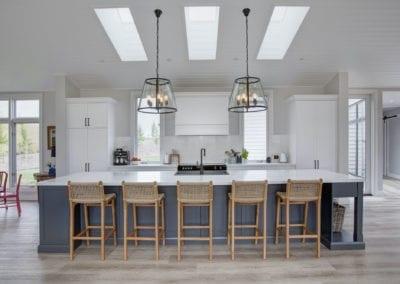 Stylish Hamptons Country Kitchen Moss Vale